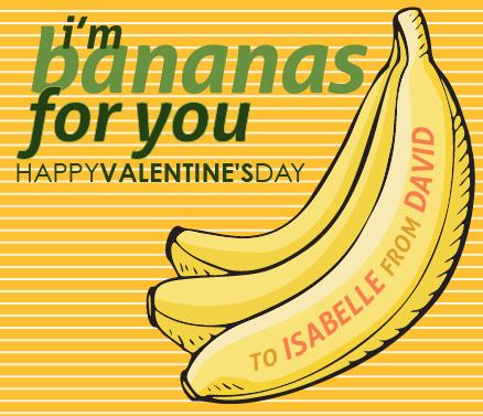 banana valentine