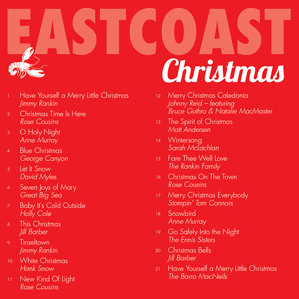East Coast Christmas CD-Inside