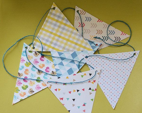 Argyle-Baby-Shower Banners
